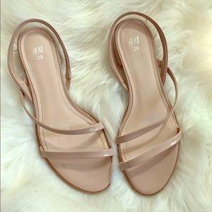Nude H&M Sandals